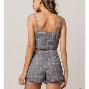 Tilly's Other - Tilly's gray plaid set